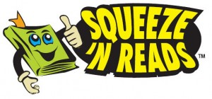 Squeeze 'N Reads logo - click for larger version